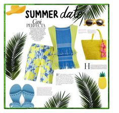 """Summer date"" by lizz-med ❤ liked on Polyvore featuring P.A.R.O.S.H., Issey Miyake, Givenchy, Accessorize, Miss Selfridge, Whiteley and Sensi Studio"