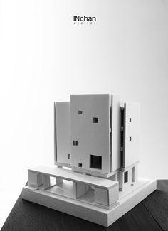 Experimental model No.2 #75wa #Residential Architecture, Model, Home Decor, Atelier, Arquitetura, Interior Design, Architecture Design, Home Interior Design