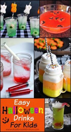#Halloween Drinks for Kids