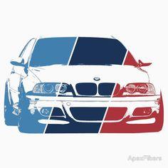 BMW M3 (E36) in M colors