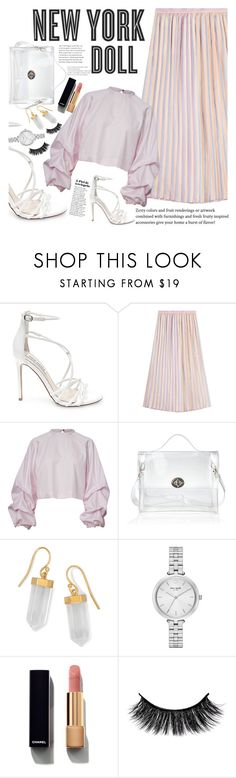 """""""Untitled #1883"""" by anarita11 ❤ liked on Polyvore featuring Steve Madden, Marco de Vincenzo, Hemingway, BillyTheTree, Kate Spade and Chanel"""