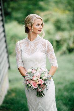 Long lace sleeved w www.mccormick-weddings.com Virginia Beach