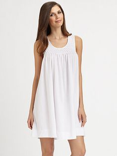 Cottonista - Pima Cotton Tank Gown