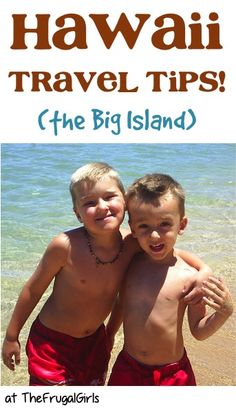 Fun Things to See and Do on The Big Island of Hawaii! ~ at TheFrugalGirls.com - you'll love these fun travel tips for the best beaches on the island and activities around Kona and Hilo on your next Hawaiian vacation! #thefrugalgirls