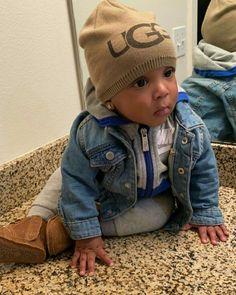 Cute Black Babies, Cute Babies, Black Baby Boys, Cute Mixed Babies, Cute Little Baby, Cute Baby Girl, Kids Fashion, Little Boy Fashion, Baby Boy Fashion