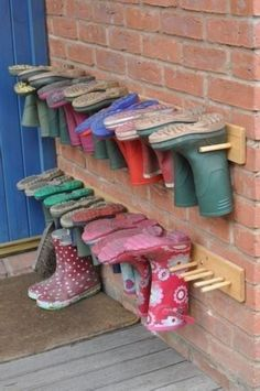 45 Best Large Shoe Rack Ideas For Storing Your Shoe Collection How To Make Shoe Storage, How To Make Shoes, Shoe Storage Inserts, Large Shoe Rack, Decoration Creche, Decorations, Ideas Para Organizar, Ideas Geniales, Shoe Organizer