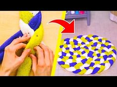 How to make slippers at home | Old waste jeans/denim | ribbon flower | best out of waste | Artkala - YouTube