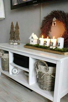 Awesome Haus K chen Advent Auf Dem Land Sch big Weihnachten Christmas