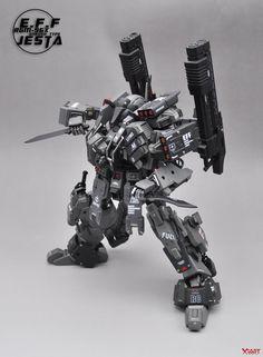GUNDAM GUY: MG 1/100 RGM-96X Jesta On-Rush Type - Custom Build