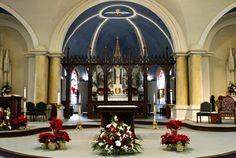 churches at christmas -