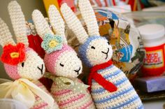 Greedy For Colour: A Few More Bunnies.
