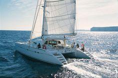 Charter Catamarans Lagoon 570, 4 cabins, 8 berths, available to rent Croatia.
