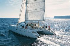 Charter Catamarans Lagoon 570, 4 cabins, 8 berths, available to rent Croatia.