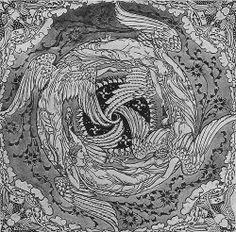 Walter Crane 'Four Winds' 1890