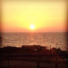 Beautiful Beirut Sunset. #gottabethegoodlife