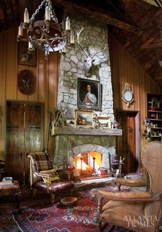 Mix and Chic: Home tour- A beautiful fairy tale-inspired mountain home!