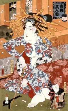 Hiroshi Hirakawa Paintings Are Ukiyoe In Style | Mutantspace