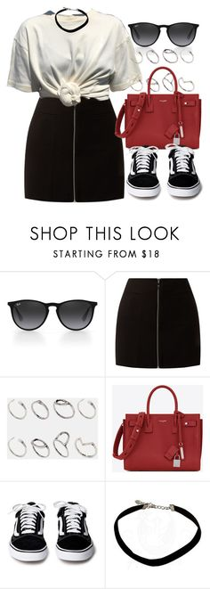 """#14686"" by vany-alvarado ❤ liked on Polyvore featuring Ray-Ban, ASOS and Yves Saint Laurent"