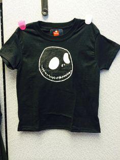 Boys Jack Skellington T-Shirt by YGcrafts on Etsy