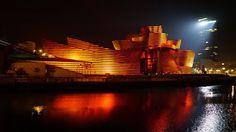 Una espectacular proyección cerrará el XX aniversario del Guggenheim