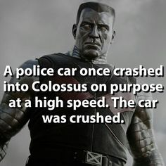 Y'all remember this guy from deadpool? May you crush all your limits this month. Welcome to may!  Credit: @marvelousfacts #colossus #deadpool #civilwar #captainamerica #ironman #hero #xmen #comics #marvel