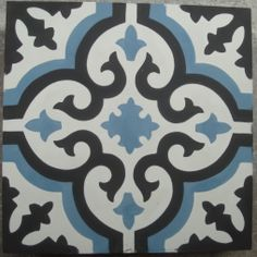 MARRAKECH 1   portugese tegels, cementtegels 20x20 cm. Collectie www.floorz.nl