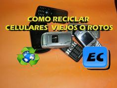 Que podemos hacer con un celular viejo, Reciclado de moviles telefonicos