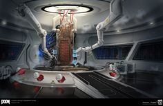 Concepts done for areas in Lazarus   All Images © id Software, LLC, a Zenimax Media Company.