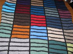 Stained Glass Throw by carlyd73, via Flickr
