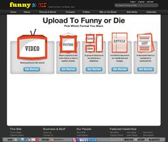 erin / Funny or Die: Uploading to the site (requires password to go any further)