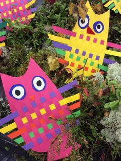 Pujottelupöllöt Diy And Crafts, Crafts For Kids, Arts Ed, Art Plastique, Types Of Art, Art Therapy, Craft Activities, Art School, Art Education