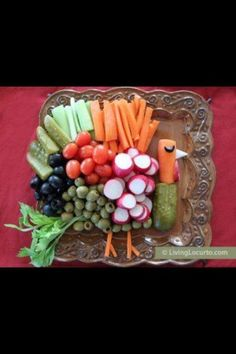 Thanksgiving relish tray