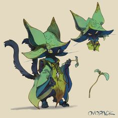 Imaginary Characters: Artwork of heroes, villains, and champions Fantasy Character Design, Character Design Inspiration, Character Concept, Character Art, Mythical Creatures Art, Cute Creatures, Creature Concept Art, Creature Design, Character Design References