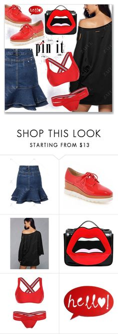 """""""Edgy"""" by jecakns ❤ liked on Polyvore featuring Yazbukey"""