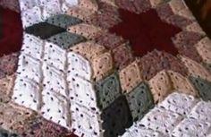 Tutorial coperta uncinetto mattonelle rombo copia