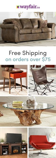 From cool and contemporary to mid-century inspired, Wayfair's sofas complete your living room look. With rolled arms, built-in ottomans, recliners, tufting, and leather, our vast selection of sofas has every feature you can imagine to suit all styles and budgets. Visit Wayfair to get exclusive deals at up to 70% OFF, and FREE shipping on any order over $75! Sign up and shop now.