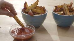 Frites au four et ketchup maison | Cuisine futée, parents pressés