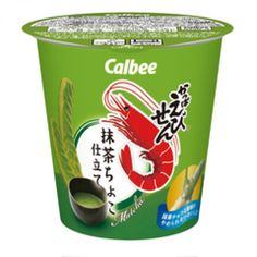 Calbee Kappa Ebisen Matcha Choco chocolate Cup limited Shrimp Flavor Chips Japan #Calbee