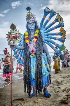 Dasara Festival @ Kulasai_mutharamman by Thulasidasan TD - Tamil Nadu, India Jaipur, Namaste, Anthropologie, Amazing India, India Culture, Festivals Around The World, India People, India Colors, India Tour