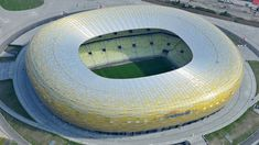 Arena Gdańsk in Gdansk, Poland will stage the 2020 UEFA Europa League final Soccer Stadium, Europa League, Finals, Gdansk Poland, Stage, Football, Live, Sports, Soccer
