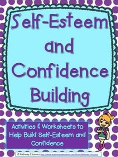 This is a pack of 27 pages focused on building student self-esteem and confidence. Contents include a variety of worksheets, writing activities, discussion starters, journals, and hands-on materials to help increase confidence so that students can feel positive and good about themselves!