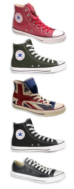 Love all the shoes. Especially the one with the British flag on the side.