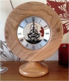 Paul Surtees, The Woodland Creations: Wood Turned Clock