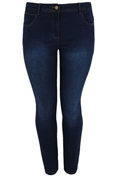 Yougao Womens New Retro Fashion womans Lady Casual Pants Wideleg Denim Jeans Blue Small -- Read more reviews of the product by visiting the link on the image.