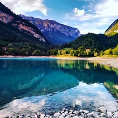 Lago di tenno, Trentino, Italia