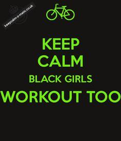 black girls workout - Google Search