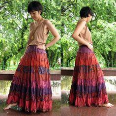 Pretty Flowing Skirt