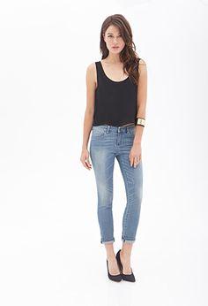 Skinny Boyfriend Jeans | FOREVER21 - 2000066854