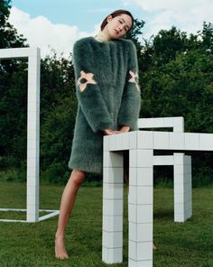 Shrimps Reimagines Resort With a New Collection of FAUX Fur Coats