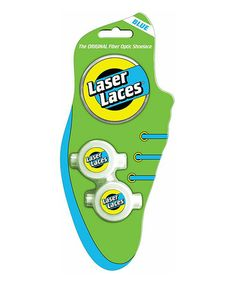 Take a look at this Blue Laser Laces Sets by Laser Pegs on #zulily today!